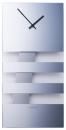 NEXTIME Wandklok Bold Stripes glas spiegel 19 x 38 cm