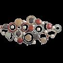 MONDI-ART wandobject cirkels