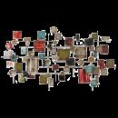MONDI-ART wandobject blokjes