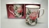 LEONARDO Collections Redoute Rose  mokken set fine bone china