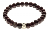 Be my Bead armband Garnet